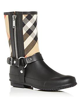 Burberry - Women's Zane Check Rain Boots