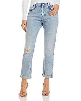 MOTHER - The Scrapper Double Cuff Jeans in Out With The Old, In With The