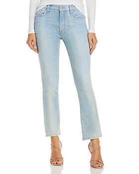 MOTHER - The Insider Ankle Jeans in Zapped