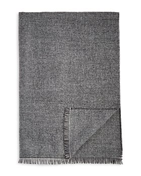 The Men's Store at Bloomingdale's - Oversized Mini Houndstooth Woven Scarf - 100% Exclusive