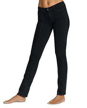 rag & bone - Cate Mid-Rise Tailor Jeans in Black Bird