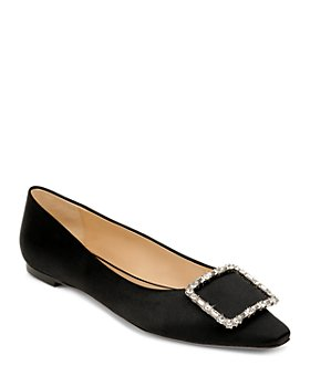 Badgley Mischka - Women's Dyanne Embellished Flats