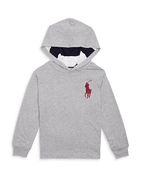 Ralph Lauren - Boys' Large Logo Hoodie - Little Kid, Big Kid