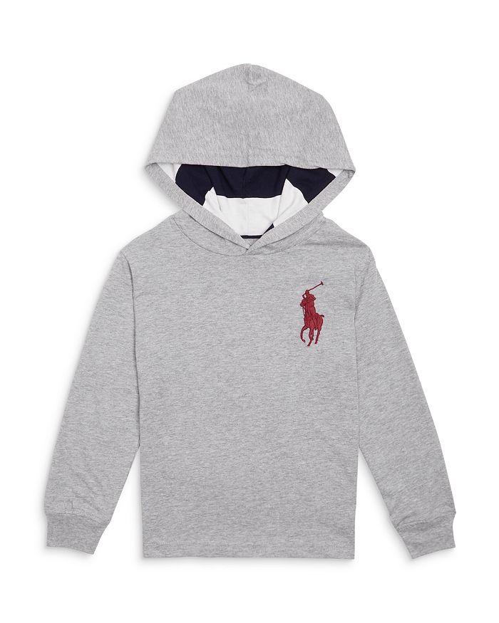 Ralph Lauren - Boys' Large Logo Hoodie - Little Kid, Big Kid
