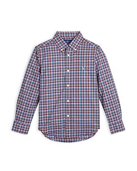 Ralph Lauren - oys' Plaid Button Down Shirt - Little Kid, Big Kid