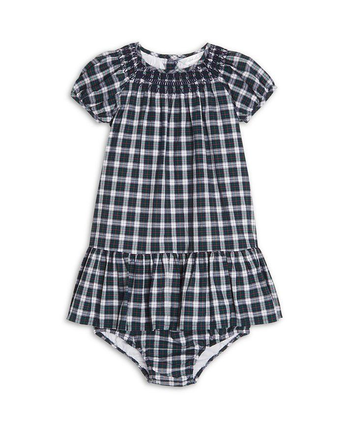 Ralph Lauren - Girls' Smocked Plaid Dress & Bloomers - Baby