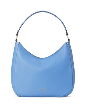 kate spade new york - Roulette Large Pebbled Leather Hobo Bag