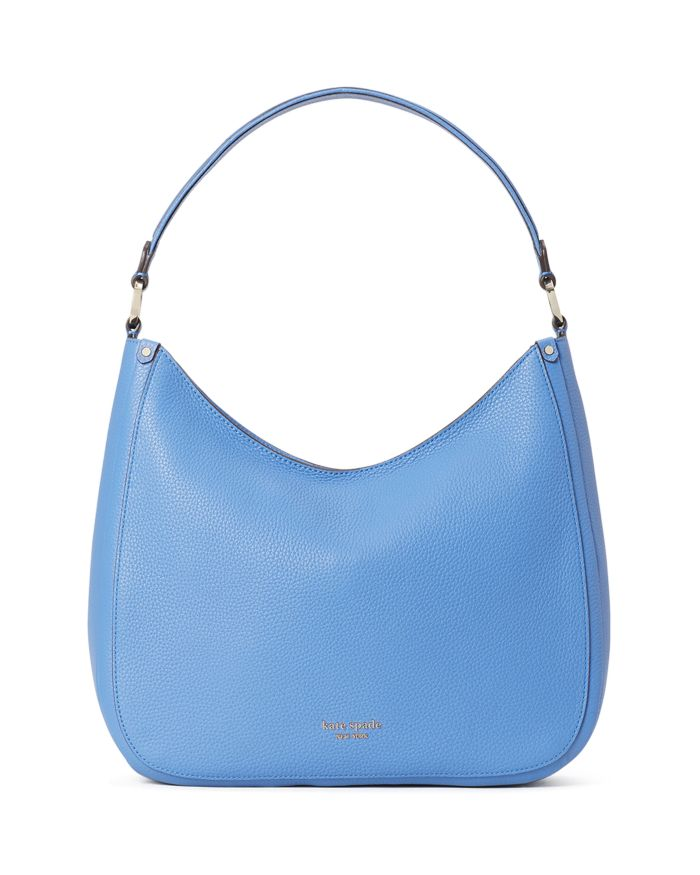 Kate spade new york Roulette Large Pebbled Leather Hobo Bag  | Bloomingdale's