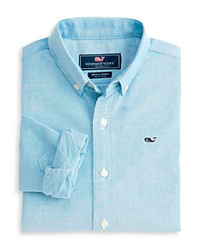 Vineyard Vines - Boys' Cotton Oxford Whale Shirt - Little Kid, Big Kid