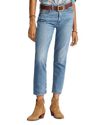 Ralph Lauren - Avery Boyfriend Jeans in Blue