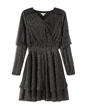 Habitual Kids - Girls' Vivienne Metallic Striped Dress - Big Kid