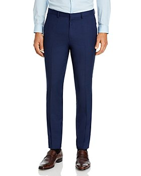 HUGO - Hesten Tonal Micro Check Extra Slim Fit Suit Pants