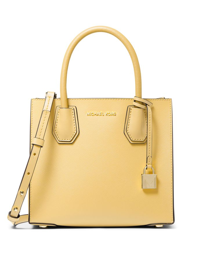 MICHAEL Michael Kors Mercer Medium Leather Messenger Bag  | Bloomingdale's