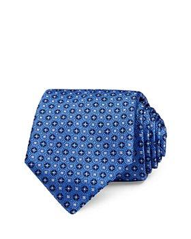 Canali - Mini Floret Silk Classic Necktie