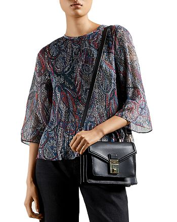 Ted Baker - Paisley Print Pleated Top
