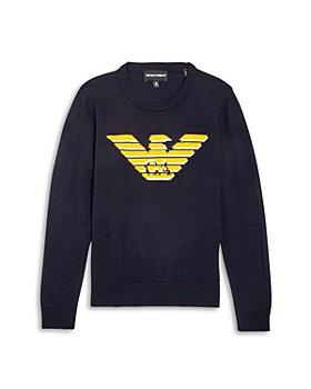 Armani - Boys' Logo Pullover Sweater - Big Kid