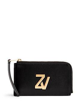 Zadig & Voltaire - ZV Initiale Medium Leather Zip Around Wallet