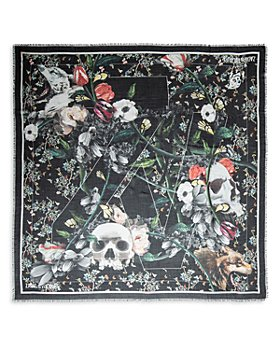 Zadig & Voltaire - Kerry Skull & Flower Stole