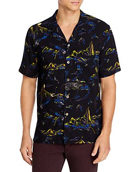 PS Paul Smith - Mountain Print Casual Fit Shirt