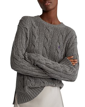 Ralph Lauren - Cable-Knit Crewneck Sweater