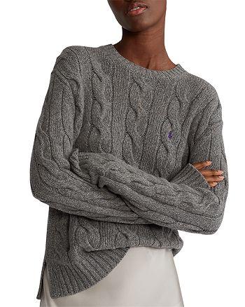 Ralph Lauren - Cable-Knit Crewneck Sweater