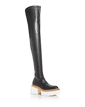 Stella McCartney - Women's Emilie Over The Knee Platform Boots