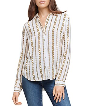 L'AGENCE - Holly Chain Print Blouse
