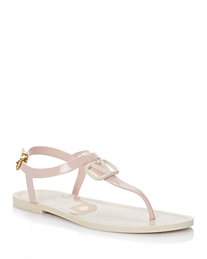 Valentino WOMEN'S STRAPPY THONG SANDALS