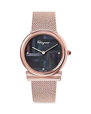Salvatore Ferragamo Gancini Watch, 34mm