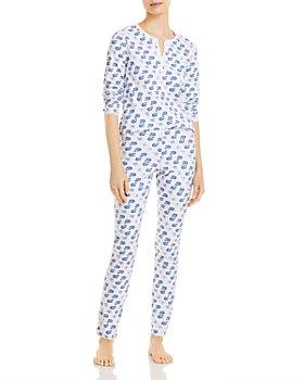 Roller Rabbit - Moby Printed Pajama Set