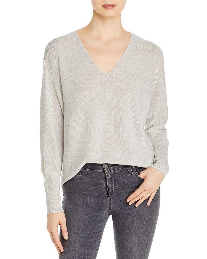 Eileen Fisher - Wool V-Neck Sweater