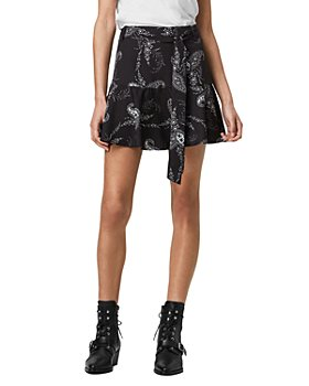 ALLSAINTS - Frida Kashmir Mini Skirt