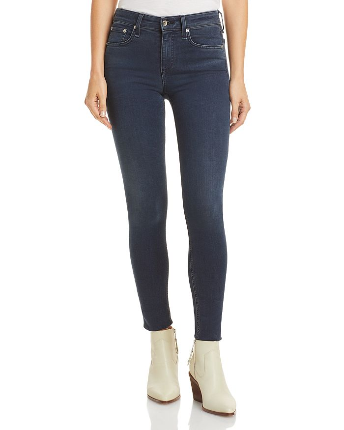 rag & bone - Cate Mid Rise Skinny Jeans in Tiger Lily