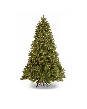 National Tree Company - 6.5 ft. Douglas Fir Hinged Tree with 750 Lights and Power Connect System