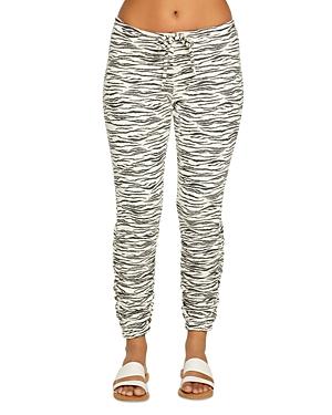 Chaser Zebra Print Jogger Pants