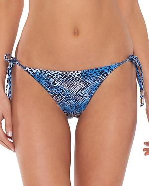 Untamed Printed Side Tie Bikini Bottom