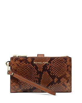 MICHAEL Michael Kors - Large Leather Wristlet