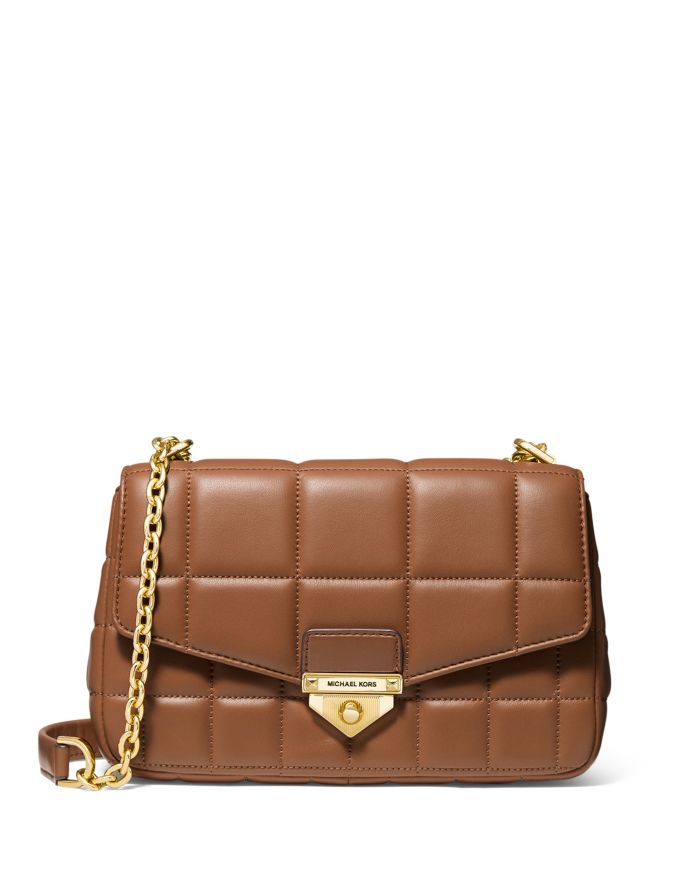 MICHAEL Michael Kors Soho Large Leather Shoulder Bag  | Bloomingdale's