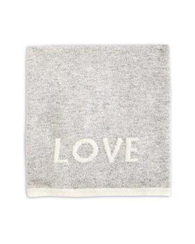 Bloomie's - Unisex Love Cashmere Baby Blanket