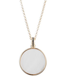 Ralph Lauren - Mother-of-Pearl Pendant Necklace, 36""