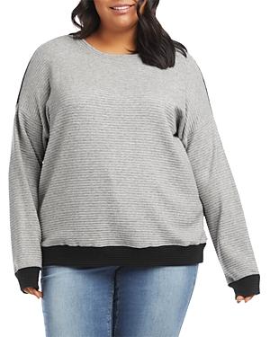 Karen Kane Plus Color Blocked Sweater