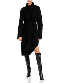 Line & Dot - Janet Asymmetric Sweater Dress
