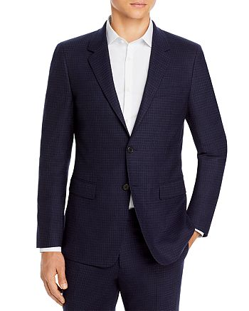 Theory - Chambers Micro Check Slim Fit Suit Jacket