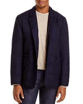 Zanella - Quilted Water-Repellent Wool Car Coat