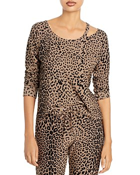 CHASER - Leopard Print Pullover Sweatshirt