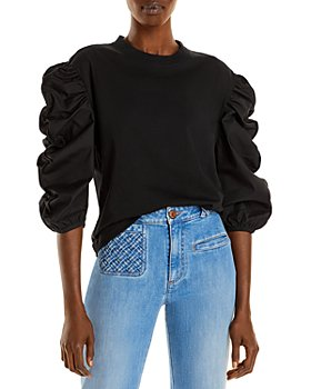 See by Chloé - Ruffled Sleeve Knit Top