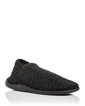 Bottega Veneta - Men's Woven Knit Low Top Sneakers