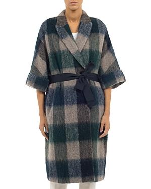 Peserico Checkered Coat