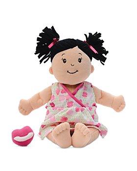 Manhattan Toy - Stella Brunette Soft First Baby Doll - Ages 1+