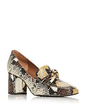 Donald Pliner - Women's Camee High Block Heel Loafers